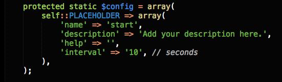 Console Scripts Config